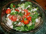 Tomato and Bok Choy Salad