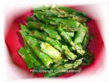 Kikismommies' Raspberry Walnut Asparagus