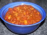 Home Made Chili