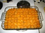 Mom's Famous Tatertot Casserole