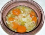 Cabbage, Turnip & Carrot Soup