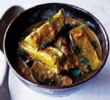 Aubergine Curry with Lemongrass & Coconut Milk