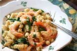 Unchained Recipe Contest Red Pepper Shrimp Pasta made over from Michelle's in Ketchum Idaho