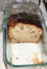 Banana Bread with Walnuts and Greek Yogurt