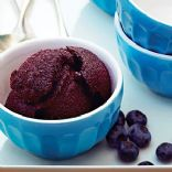 Fatfree and Sugarfree Blueberry Sorbet