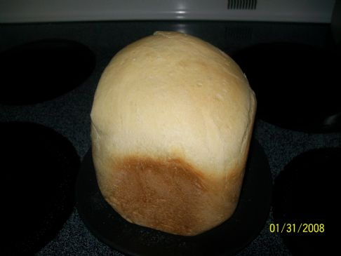 White Bread for Breadmaker (1lb small loaf)