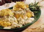 Cheese-Garlic Dumplings
