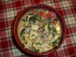 Midwest Tortellini Soup