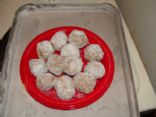 Tam's Sugar-Free Apricot Coconut Balls