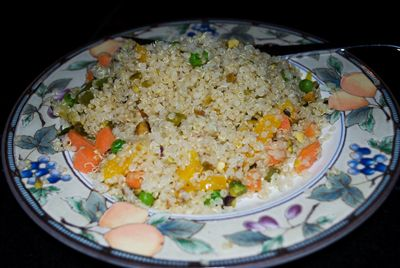 Quinoa with Vegetables and Nuts
