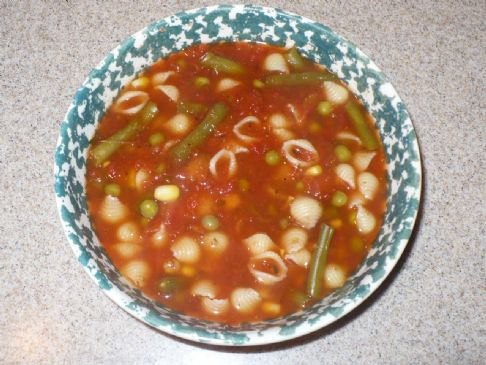 HealthierLynn's Italian Soup