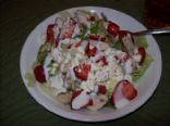 Strawberry Feta Chicken Salad