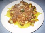 Italian Style Hamburger-Zucchini
