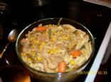 Peanut's Yummy Vegetable Noodle Stoup