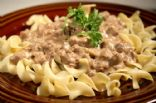 Beef & Mushroom Stroganoff 