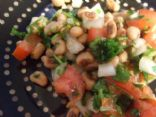 Black Eyed Pea and Cilantro Salad