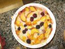 Splenda-Sweetened Peach and Blackberry Cobbler