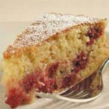 Raspberry Corn Cake