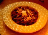 Spicy Low-Carb Chili