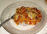 Diabetic Lasagna Primavera