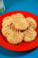 Cookies, Peanut Butter Flourless Tiny