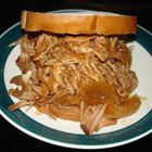Barbecued Shredded Beef