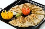 Emeril's shrimp quesadillas