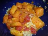 Quinoa with Moroccan Winter Squash and Parsnip Stew