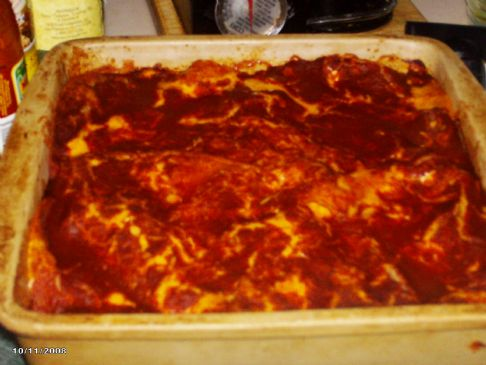 Enchilada Layered Casserole