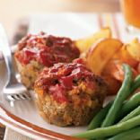 Awesome Low-Fat Mini Meatloaves