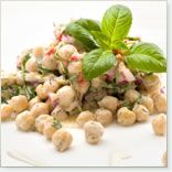 Zesty Chick Pea Salad