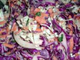 Delicious Homemade Coleslaw