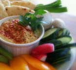 Bean-free, nut-free hummus (Raw and Gluten Free)