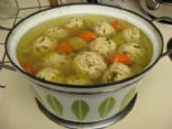 Chicken Vegetable Soup with Meatballs