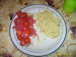 Tilapia with tomato onion ragout