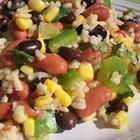 Mexican Bean & Rice Salad