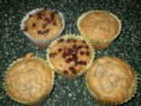 Low Calorie/ Low Fat/SugarFree Banana Muffins