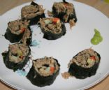 Vegan Raw Sushi