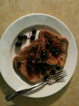 Dollbabe56's Eggless French Toast