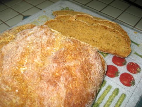 Pumpkin Sourdough Loaf