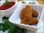 Fiber-ific Fried Cheese Sticks