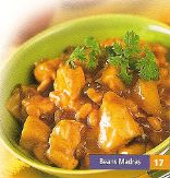 Beans Madras with Chicken