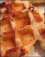 Oat and Bean Waffles
