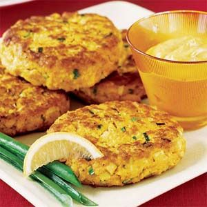 (Patties) Curried Salmon Cakes