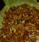 Crispy Tofu Lettuce Wraps