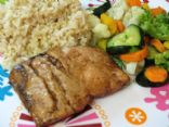 Balsamic Glazed Cracked Pepper Salmon - Clean Eating