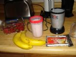 Strawberry Banana Protein Shake (Low Calorie)