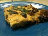Spinach Potato Frittata �Pizza�