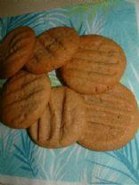 25 % less fat Peanut butter cookies