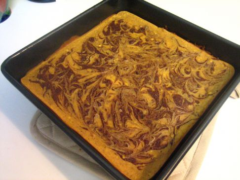 Pumpkin Cheesecake Brownies